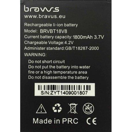 Bateria 1800mAh para Bravus Mini Gorila V8