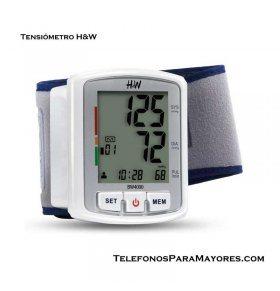 Tensiómetro digital de muñeca H&W BW4000