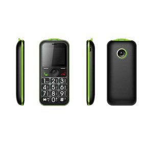 Maxcom MM560 verde movil senior