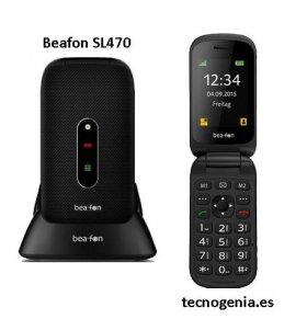 Beafon SL470 móvil senior de tapa