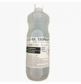 Botella Alcohol Isopropilico 1 litro