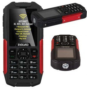Evolveo StrongPhone X3 movil robusto todoterreno