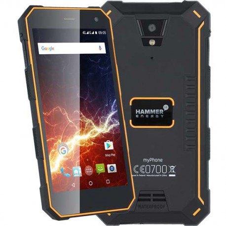 MyPhone Hammer Energy smartphone todoterreno