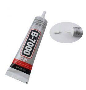 Pegamento adhesivo liquido B7000 para fijar tactiles y cristalesPegamento adhesivo líquido B7000 para fijar táctiles y cristales