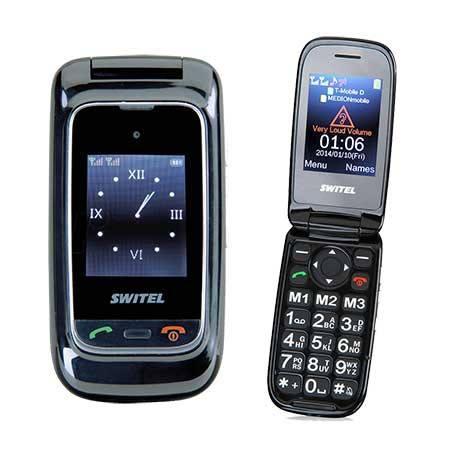 Switel M270D móvil con tapa mayores