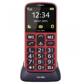 Beafon SL320 rojo movil senior grande