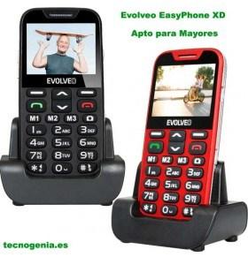 Móvil Evolveo EasyPhone XD