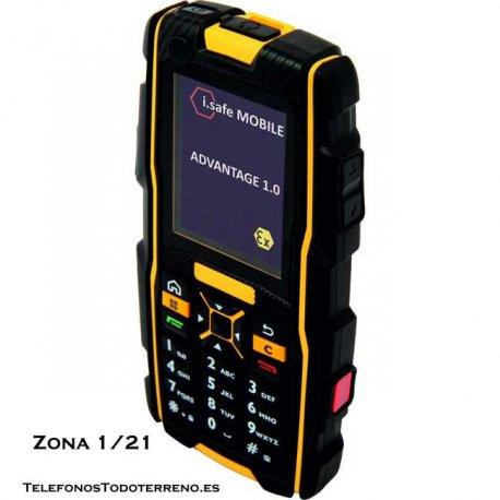 Movil ATEX i.safe Advantage telefono antideflagrante zona 1