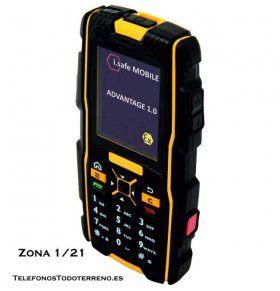 Movil ATEX i.safe Advantage telefono antideflagrante zona 1