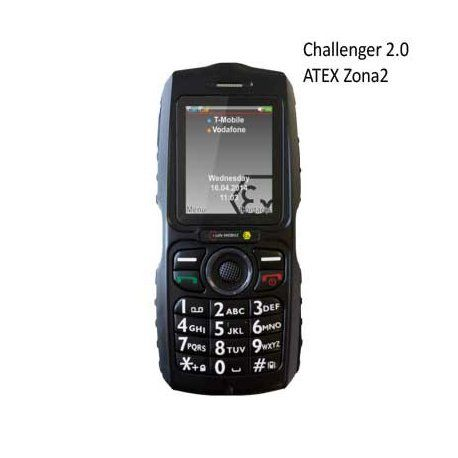 Movil ATEX i.safe Challenger 2.0 telefono antideflagrante ATEX