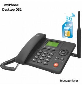 myPhone D31 telefono sobremesa SIM GSM