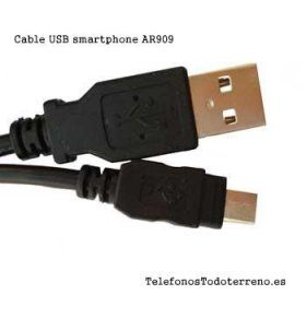 Cable MicroUSB para smartphones
