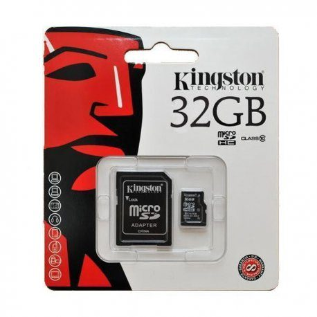 Tarjeta MicroSD 32GB HC10