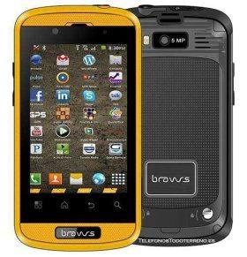 Bravus Mini Gorila V8 smartphone todoterreno