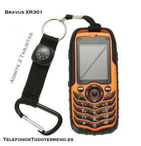 Bravus XR301 telefono todoterreno Doble SIM