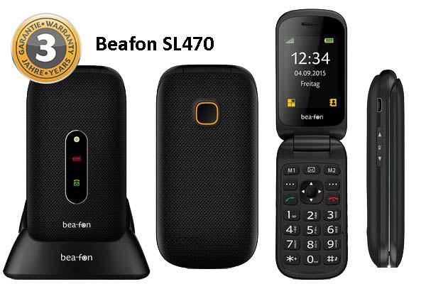 Movil para mayores Beafon SL470