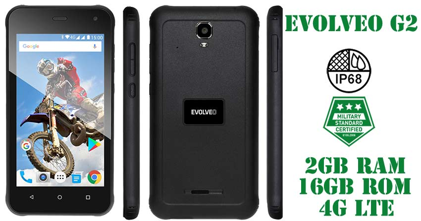 Evolveo StrongPhone G2 resistente y sumergible
