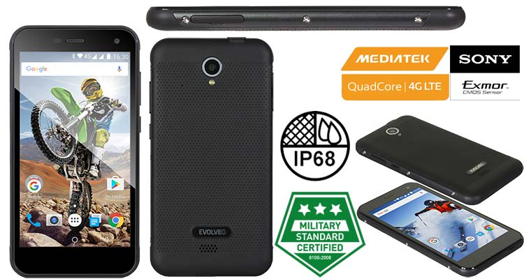 Evolveo StrongPhone G4 smartphone robusto