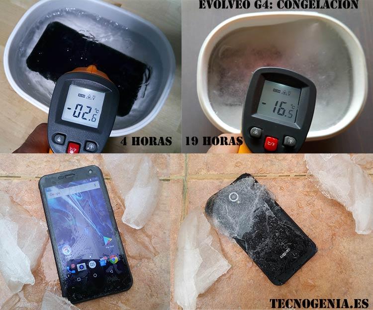 Congelación de un Evolveo StrongPhone G4