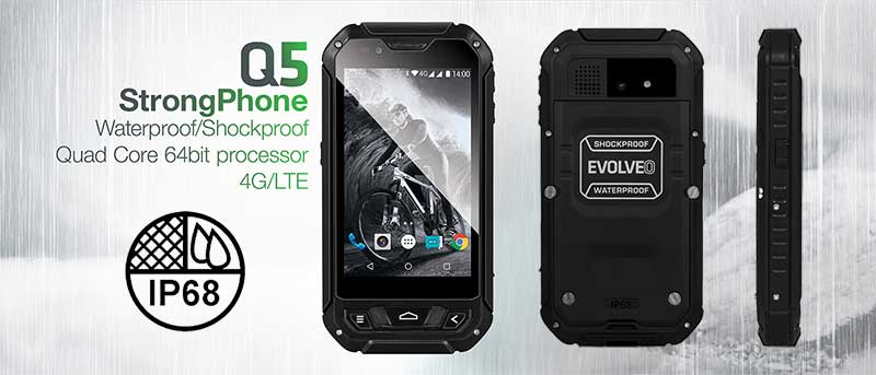 Evolveo Q5 Rugged Smartphone