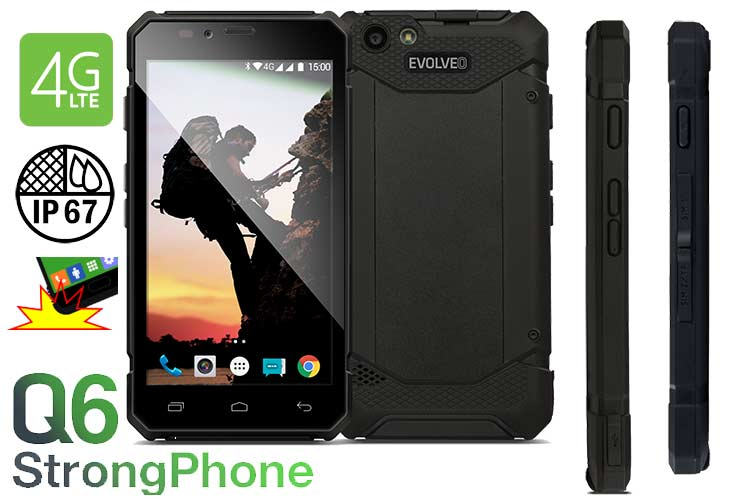 Smartphone Robusto Evolveo Q6
