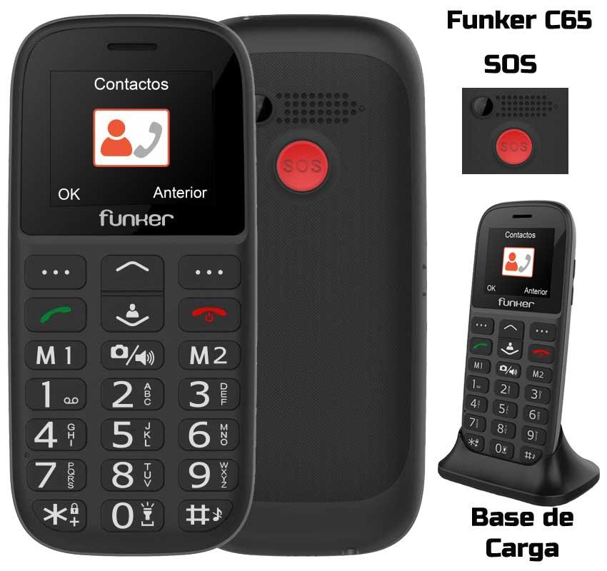 Funker C65 móvil para mayores