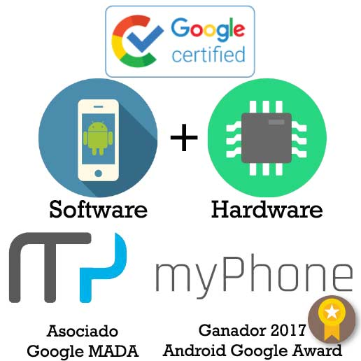 myPhone Certificacion GMS Google Android