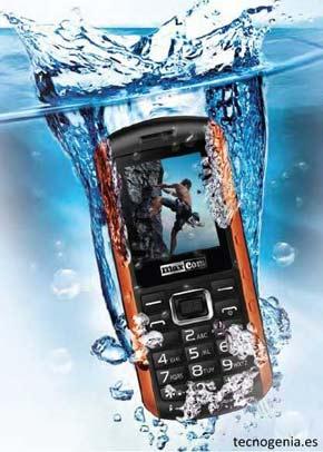 El móvil que flota de Maxcom