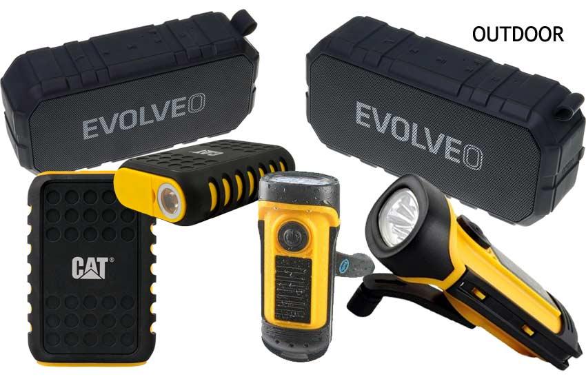 Outdoor linterna altavoz batería