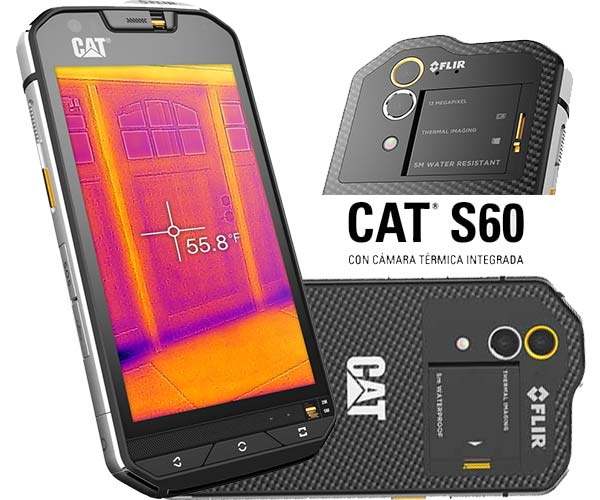 CAT S60 movil resistente
