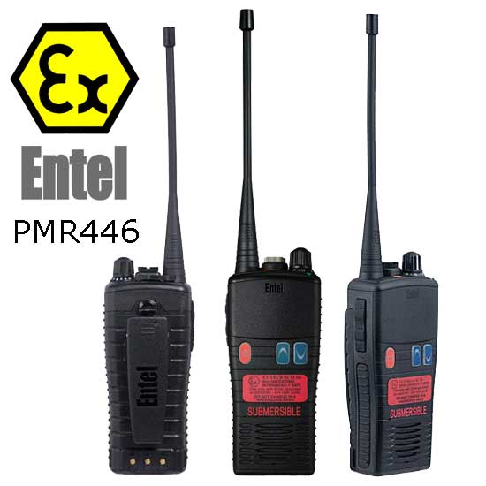 Entel HT952 Walkie Talkie ATEX