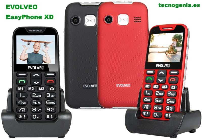 Evolveo EasyPhone XD para personas mayores