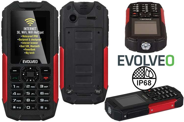 Evolveo StrongPhone X3 IP68 movil robusto todoterreno