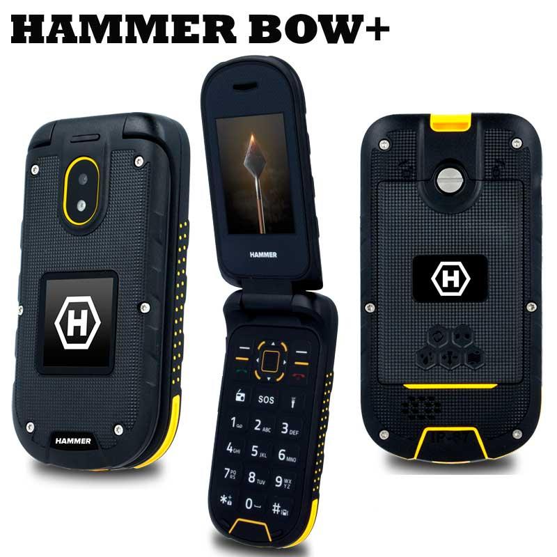 Móvil resistente de tapa Hammer BOW+