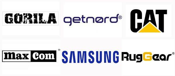 Marcas de móviles rugerizados en España