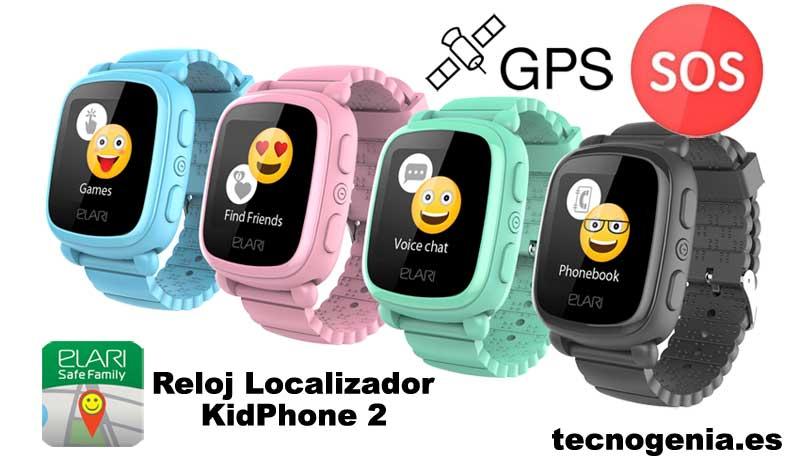 Elari KidPhone 2 Reloj GPS niños
