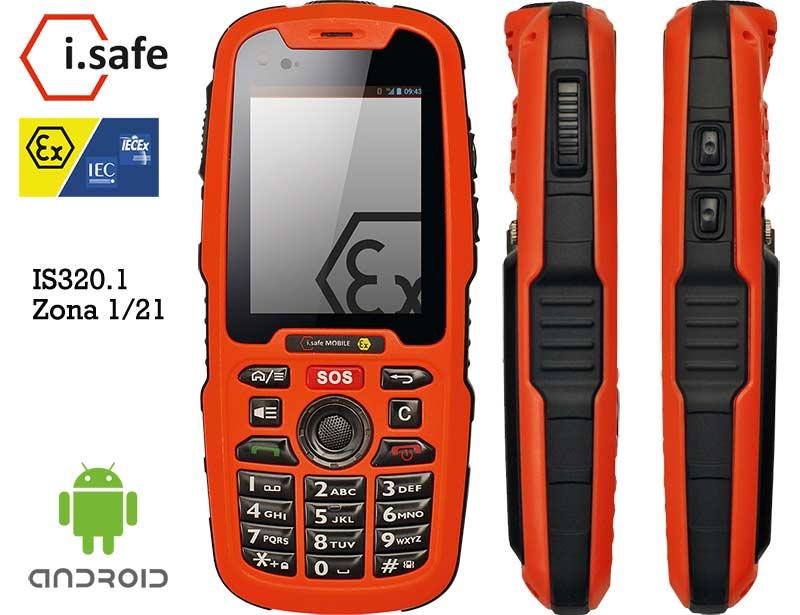 IS320.1 ATEX Zona 1 Smartphone híbrido