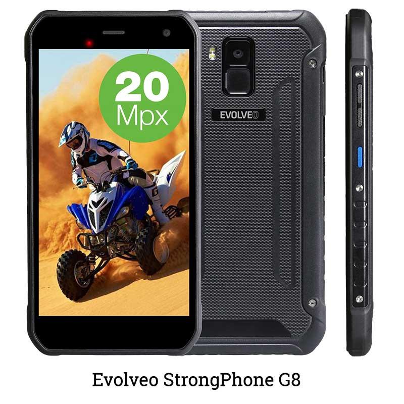 Smartphone resistente y sumergible Evolveo G8