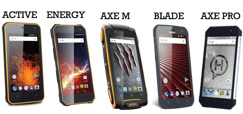 Comparativa smartphones myphone hammer