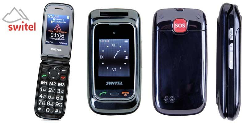 Switel M270D móvil con tapa para mayores
