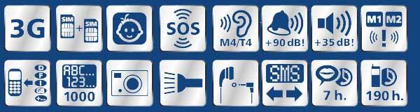 Funciones switel M800 3G