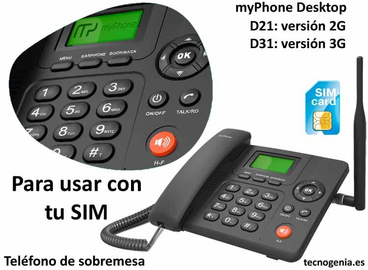 MyPhone Desktop SIM