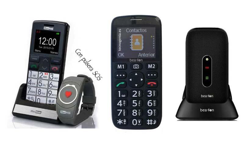 Teléfonos para mayores