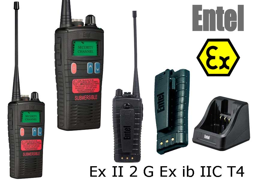 Walkie Talkie ATEX Entel HT953 PMR446
