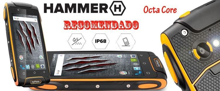Móvil todoterreno Hammer AXE M LTE