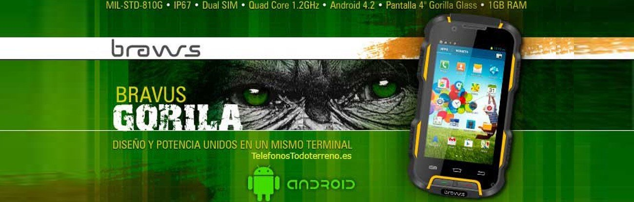 Gorila V9H smartphone robusto