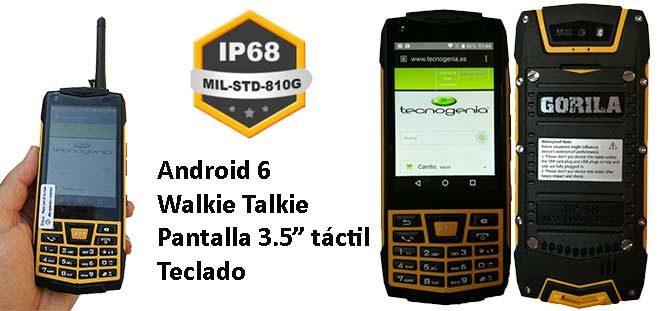 Gorila Urban GRT1 smartphone resistente