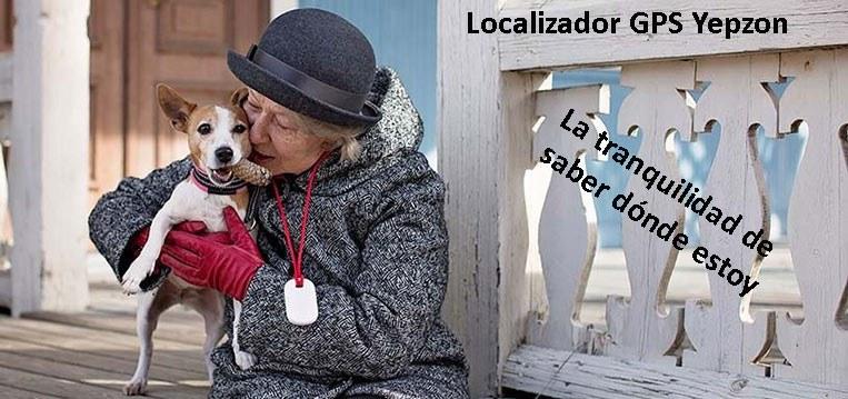 Localizador GPS para personas mayores con alzheimer