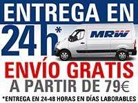Entrega en 24h con MRW